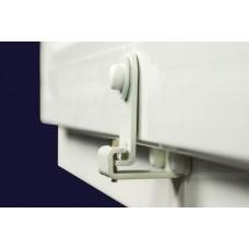 FensterRiegel -12 - 17 MM- culoare alb